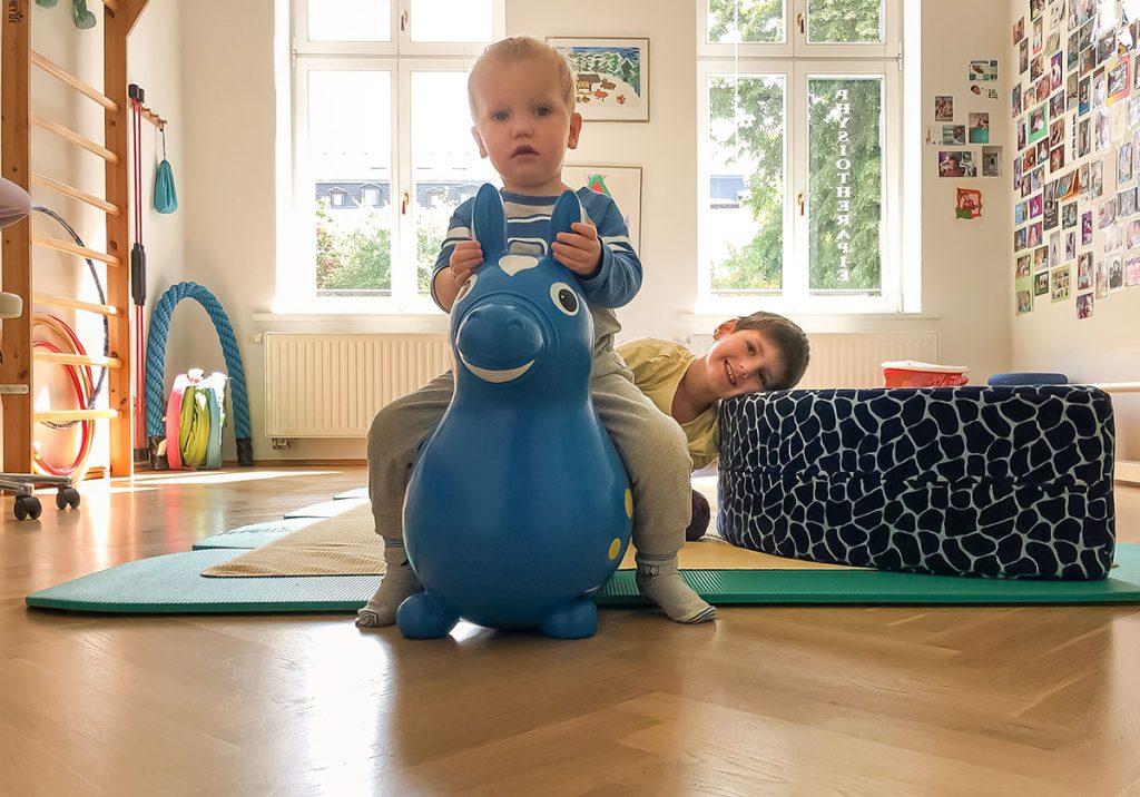 Physiotherapie für Säuglinge und Kinder
